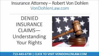 Houston Insurance Lawyer
